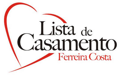 lista de presentes para casamentos Ferreira Costa