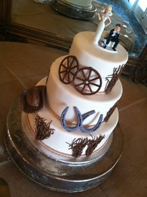 Casamento Country bolo