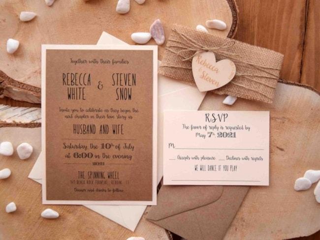 Casamento Country convites