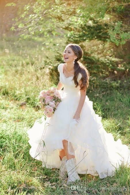 Casamento Country look da noiva