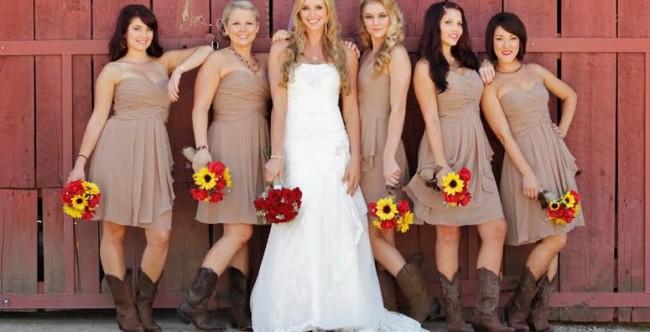Casamento Country madrinha