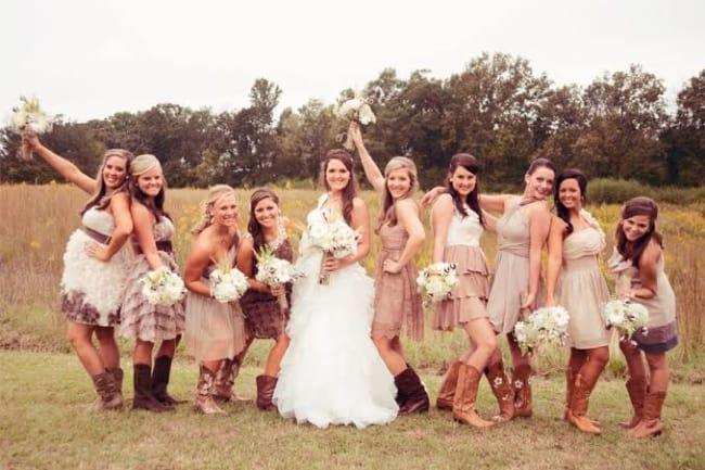 Casamento Country madrinhas