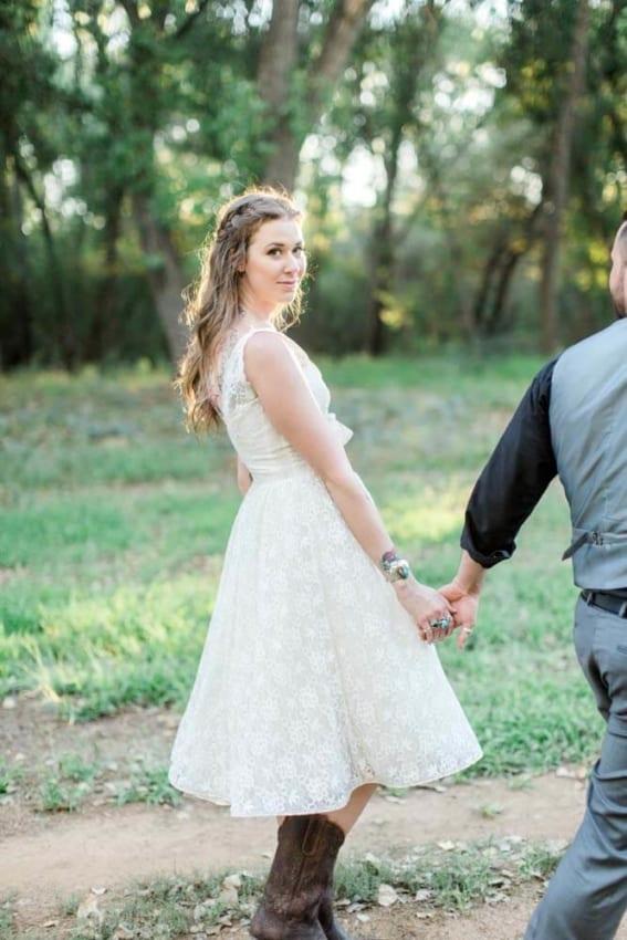 Casamento Country noiva