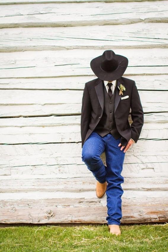 Casamento Country traje do noivo