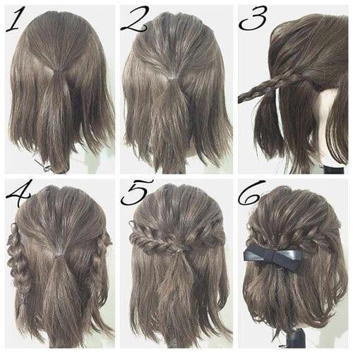 Como fazer penteado simples para casamento