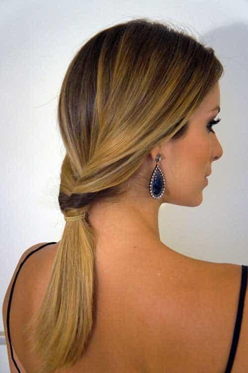 Dica de penteado simples para ir à casamento
