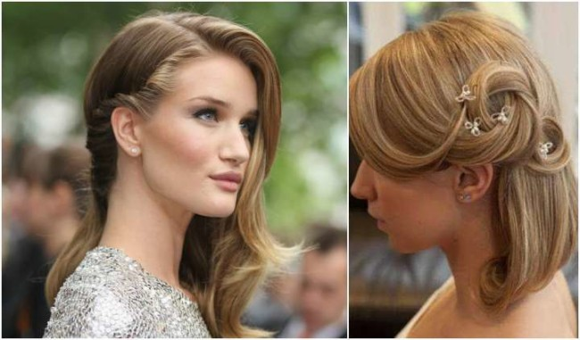 Dois penteados simples para casamento