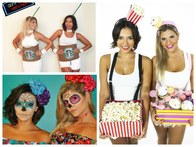 Fantasia de Carnaval criativa para meninas