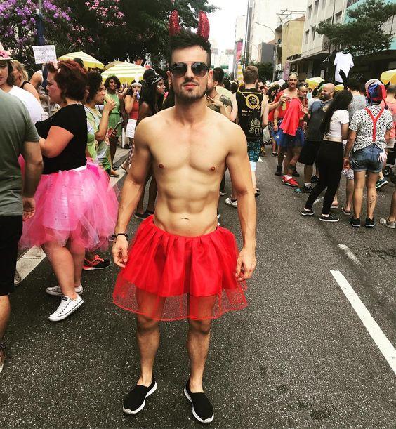 Fantasia de Carnaval masculina diabo