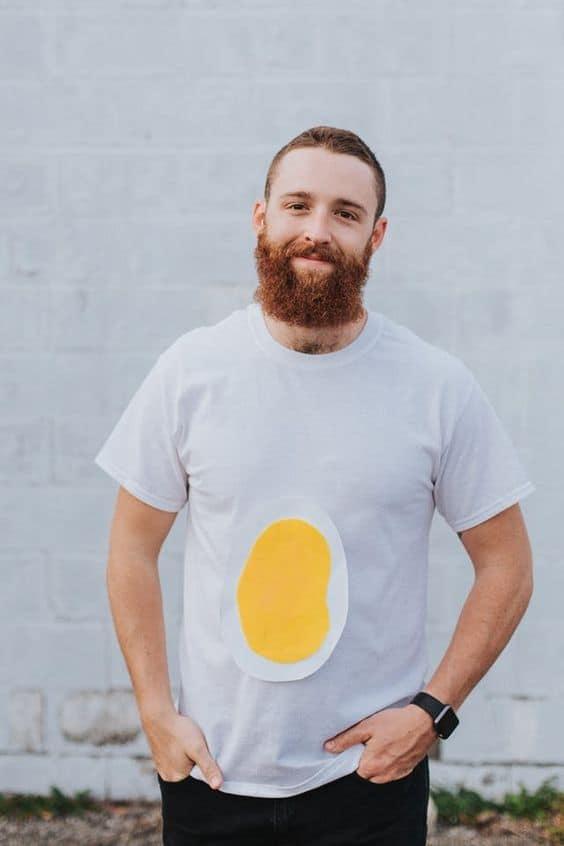 Fantasia de Carnaval masculina ovo