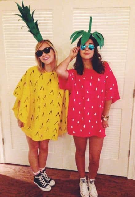 Fantasias de frutas para carnaval