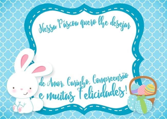 Mensagem de Páscoa para imprimir grátis