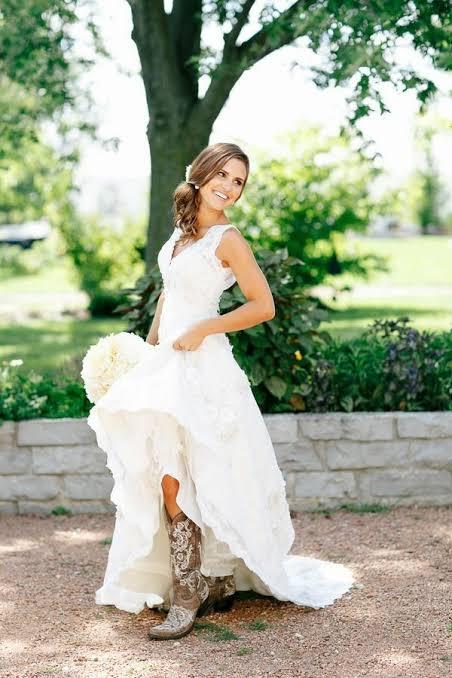 Noiva de Casamento Country