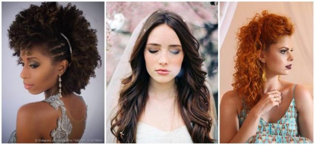 Penteados simples para casamentos 4