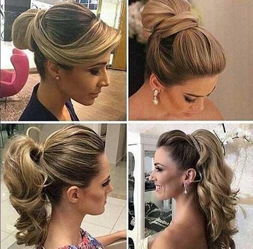 Penteados simples para madrinhas de casamento