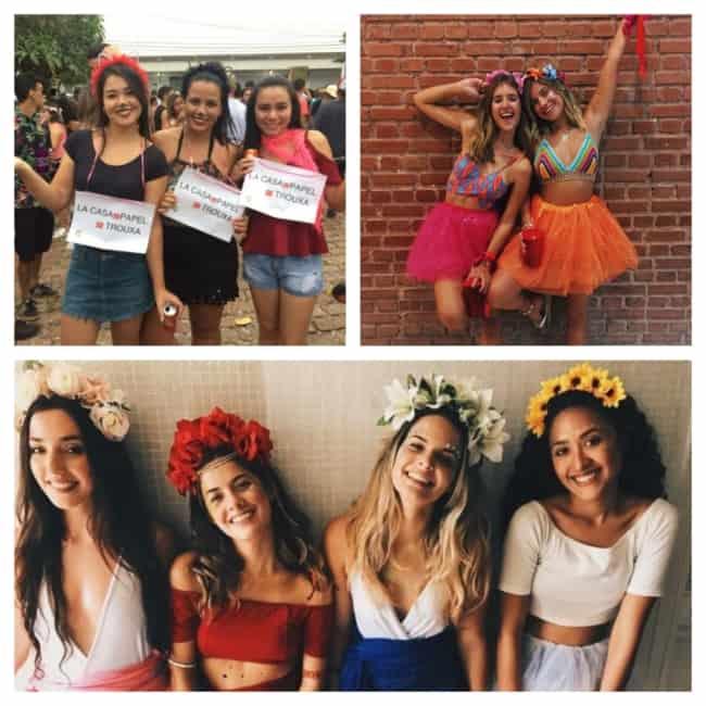 fantasia de carnaval simples feminina