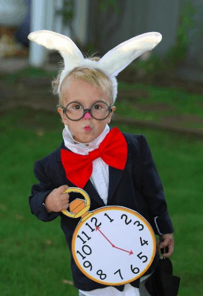 fantasia infantil simples coelho alice