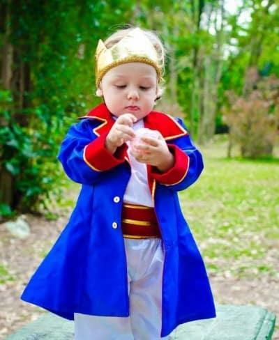 fantasia infantil simples pequeno principe