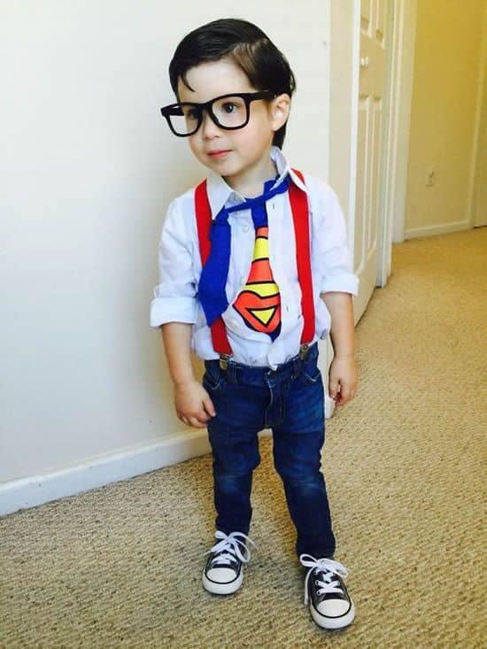 fantasia infantil simples superman