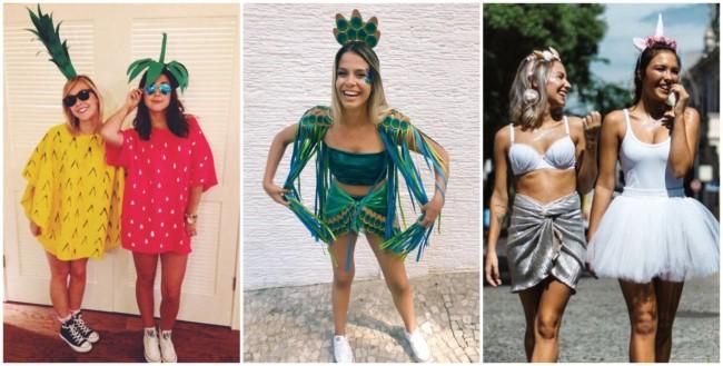 fantasias femininas criativas de carnaval