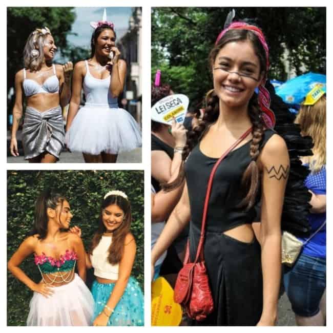 ideias de fantasia de carnaval simples feminina