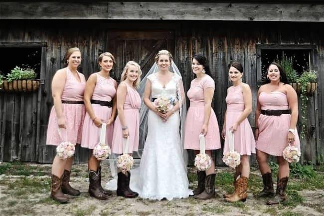 madrinha Casamento Country