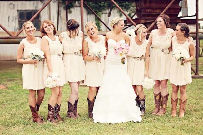 madrinhas de Casamento Country