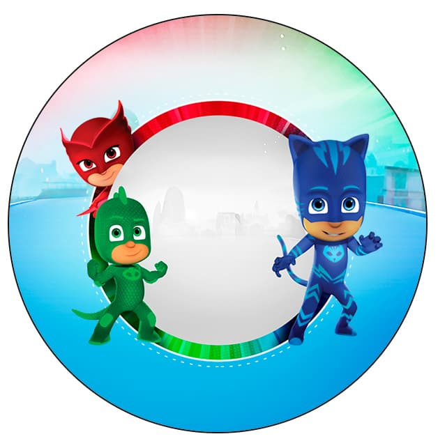 rotulo Kit festa PJ Masks