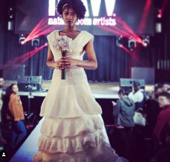 vestido de noiva princesa em crochê