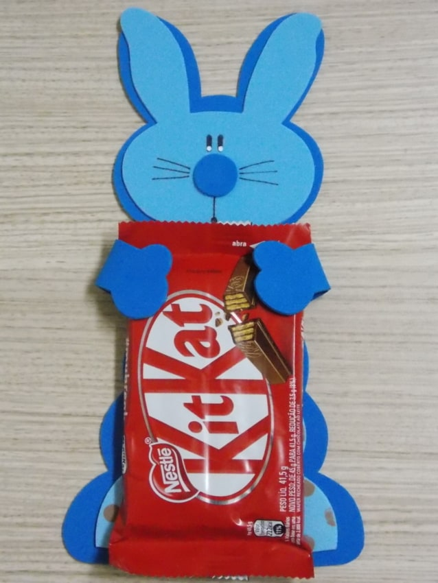 lembrancinha de páscoa com KitKat