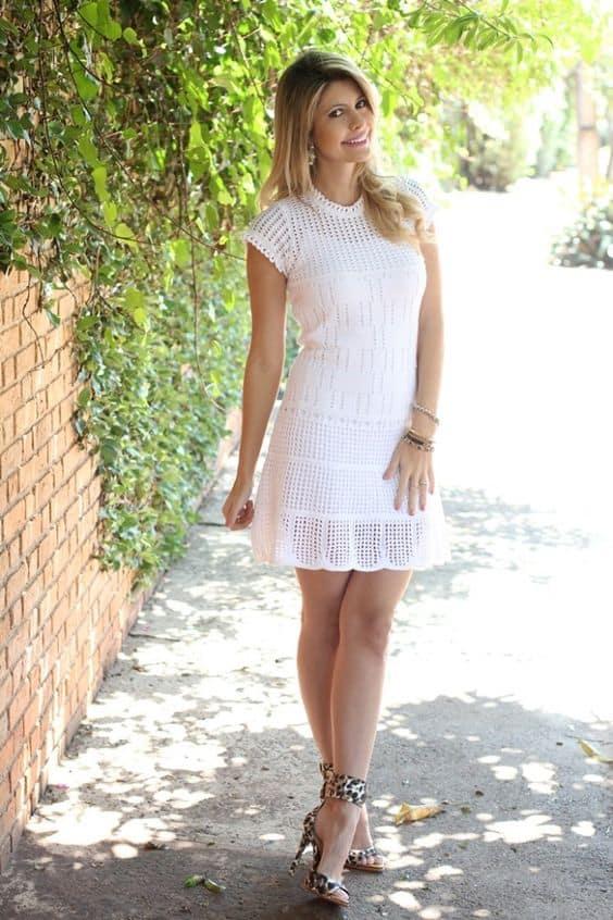 vestido de noiva curto e simples