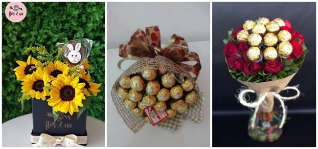 presente de páscoa romântico para namorada
