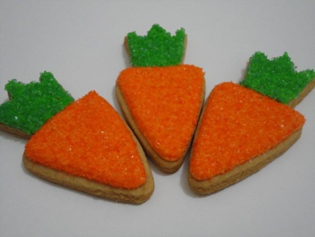Biscoito de Cenoura para Páscoa