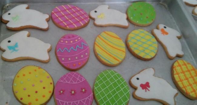 Biscoito de Páscoa customizado