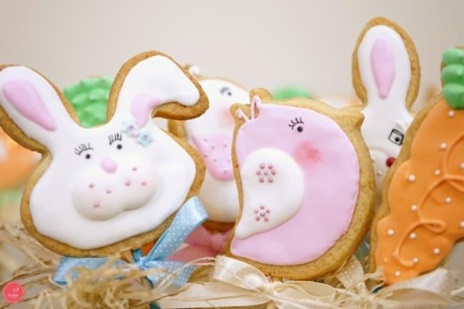 Biscoito de Páscoa decorado