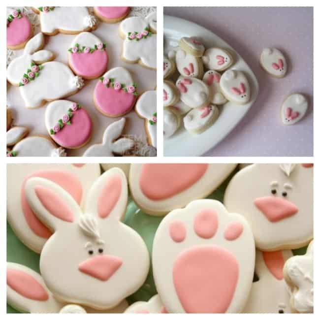 Biscoitos de Páscoa de coelho