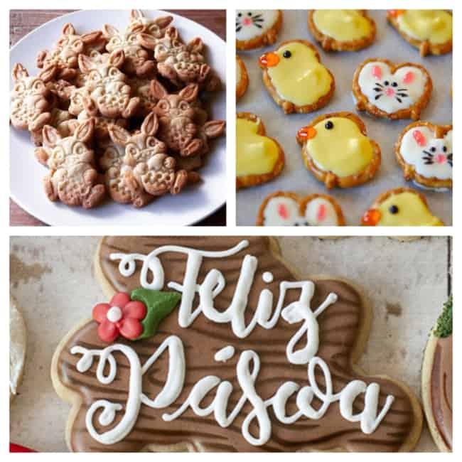 Biscoitos de Páscoa personalizados