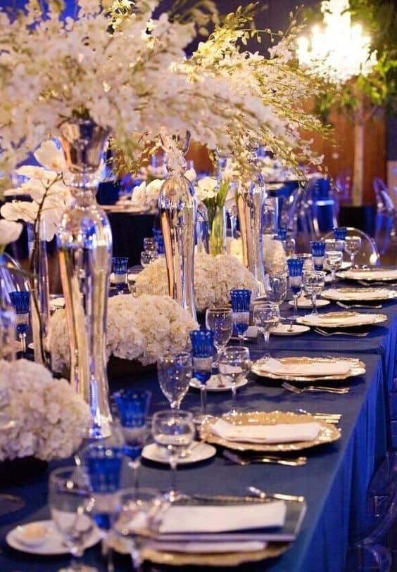 Casamento Azul Royal
