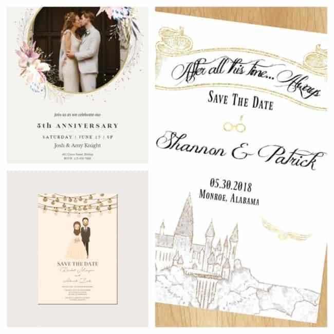 Convite de casamento online 1
