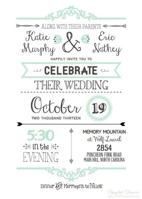 Convite de casamento online atual