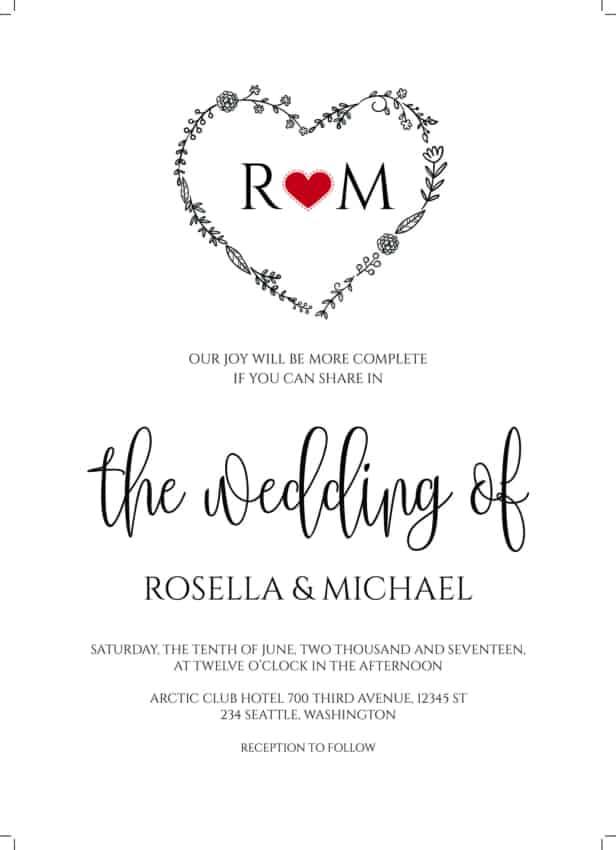 Convite de casamento online dicas