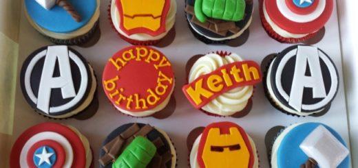 Cupcake Vingadores como fazer