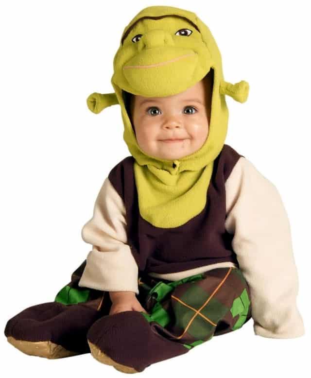 Fantasia de Carnaval de Sherek para bebê31