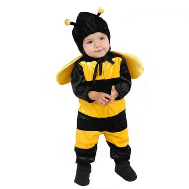 Fantasia de Carnaval de abelhinha para bebê31