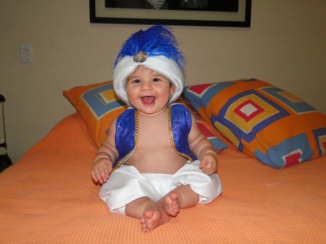 Fantasia de Carnaval para bebê de Aladim24