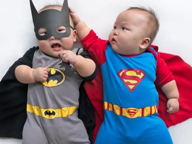 Fantasia de Carnaval para bebê de Batman12