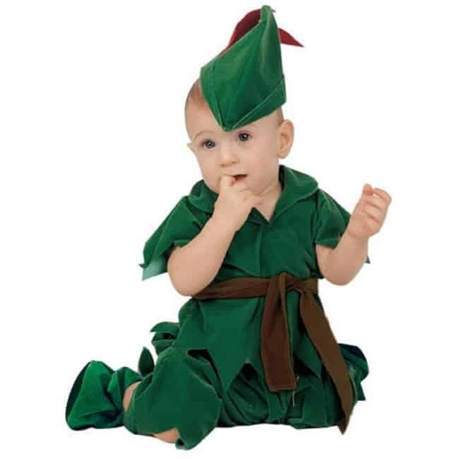 Fantasia de Carnaval para bebê de Perter Pan21