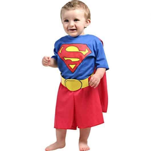 Fantasia de Carnaval para bebê de Super Homem18