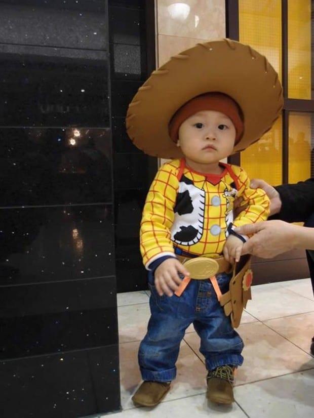 Fantasia de Carnaval para bebê de Toy Story26