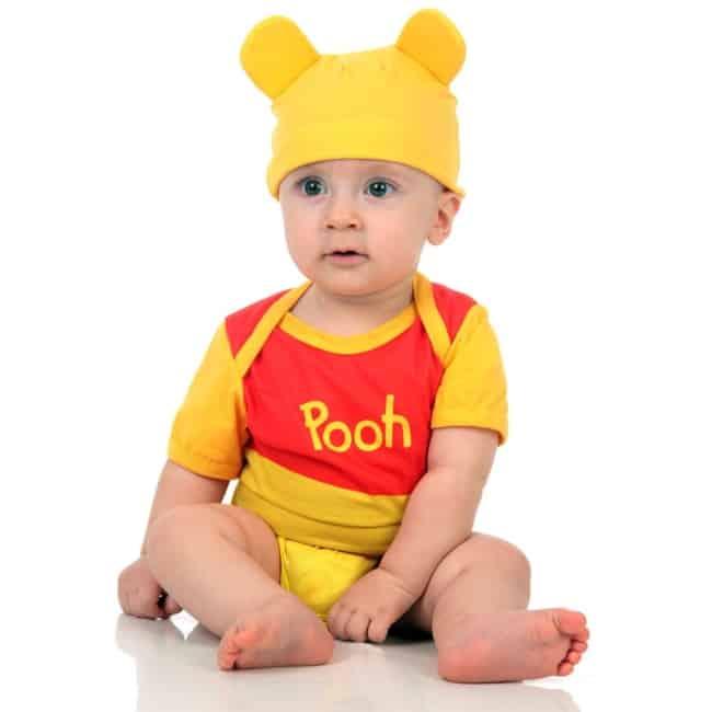 Fantasia de Carnaval para bebê de Ursinho Pooh8